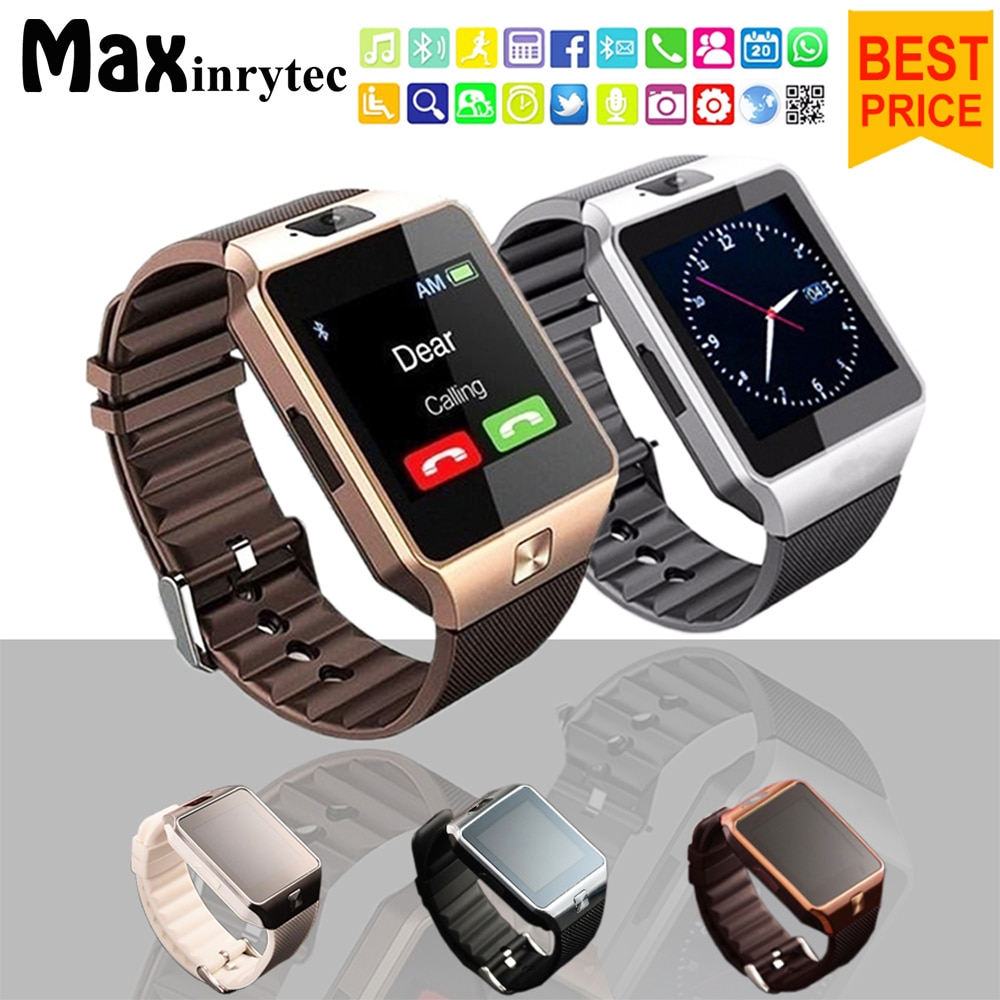 15f32b3180b Bluetooth Smart Watch DZ09 Android Phone TF Sim Card Camera Men Women Sport  Wristwatch For Iphone IOS PK Y1 A1 GT08 Smartwatch - The sky of shopping  mall